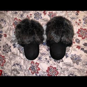 puff ball slippers